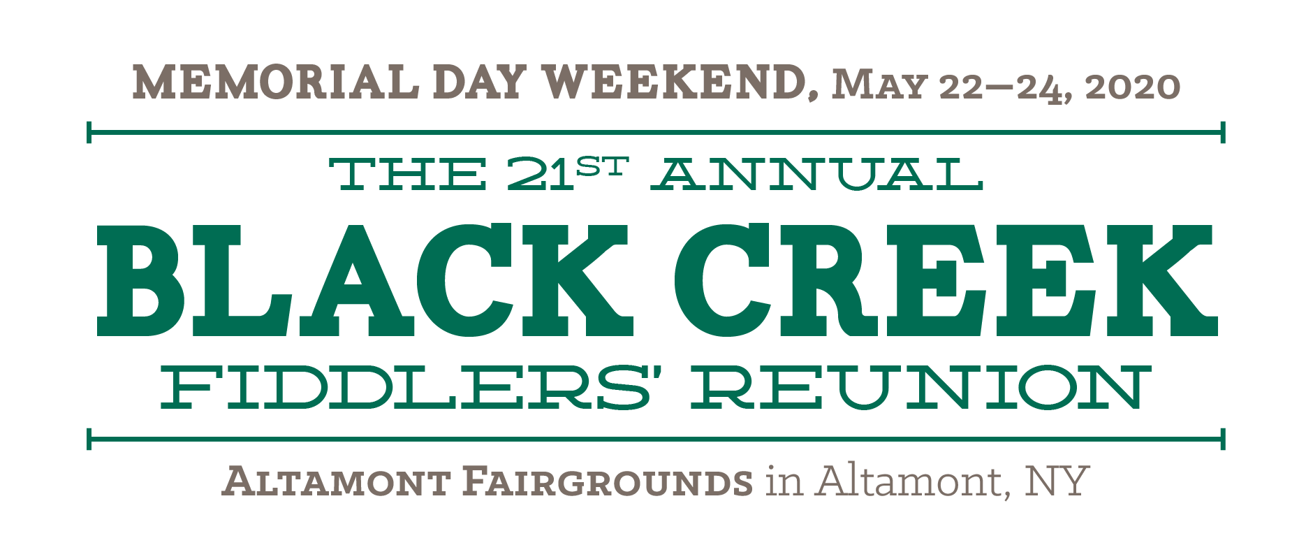 Black Creek Fiddlers' Reunion